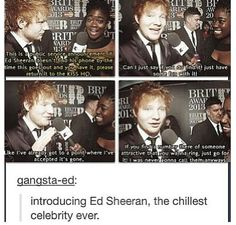 I love Ed Sheeran Aaahhhh love you @Ed Sheeran