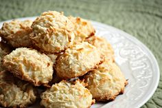 Coconut and Lime Macaroons