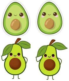 Cute Avocado, Yoshi, Fictional Characters, Art, La Llorona, Resins, Drawings, Bebe, Art Background