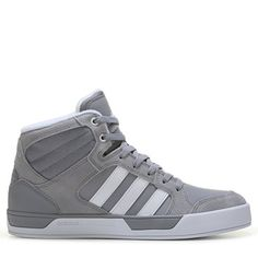 Adidas Men's Neo Raleigh High Top Sneakers (Aluminum/White) - 13.0 M
