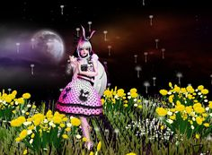 """Lost in Wonderland"" hey join here and like this phot we love you lall for tis wonderfully photo"