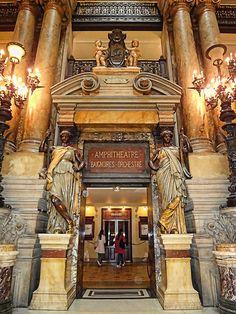 Opéra National de Paris, France | by William Cho, via Flickr