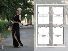Pattern dresses rectangle