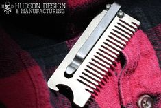 Stainless Steel Everyday Carry Beard Combs by Hudson Design & Manufacturing — Kickstarter