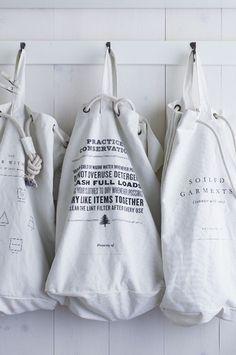 ~Laundry Bag Organization~