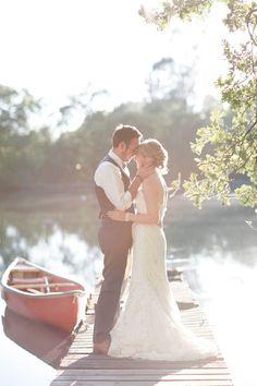 Real Wedding: Elegant Outdoor Wedding. this is so sweet <3
