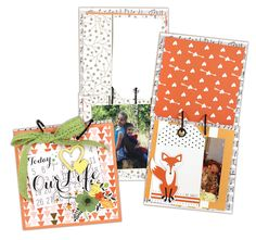 Our Life 5x5 Tile Book - Click through for project link.
