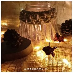 "1,579 Likes, 1 Comments - Macramé Indonesia ➰ (@macrame.id) on Instagram: ""🌸ILONA CANDLE JAR🌸 75.000 ( Jar Included) Custom Order acceptable WA : 081232146075 . . . . . .…"""