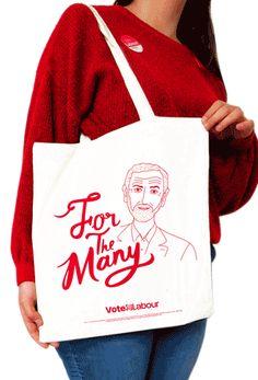 Labour limited edition tote bags – The Labour Party Banner Ideas, Labour Party, Jeremy Corbyn, A Good Man, Fiber, Politics, Reusable Tote Bags, Menswear, Guys