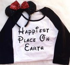 Disney Happiest Place on Earth Shirt