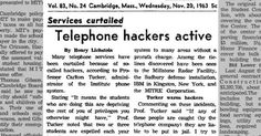 Were your grandparents hacking in 1963?