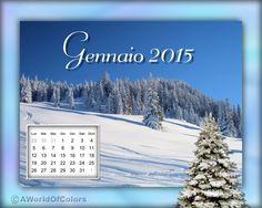 Desktop wallpaper Gennaio 2015