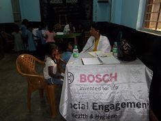 #schoolhealth in #bangalore #csr by @tcfindia #volunteers #doctors #chdp