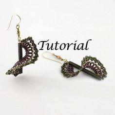 Beaded Earrings Tutorial Wind Dancer Digital by JewelryTales