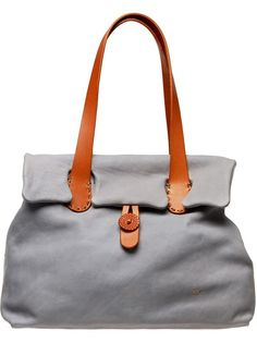 HENRY CUIR Classic Leather Tote Bag