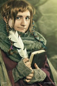 #hobbit #cosplay #ori #lotr #girls #geek