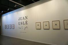 "Juan Uslé, Artista invitado de Feria Estampa 2015. Exposición ""Not as"" #Estampa2015 #ArtFair #ArteContemporáneo #ContemporaryArt #Art #Arte #Madrid #Arterecord https://twitter.com/arterecord"