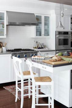 Looking to refresh your kitchen? Try one of these stunning kitchen island ideas.