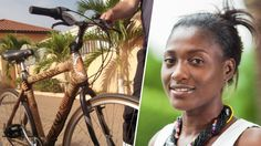 These Bamboo Bikes from Ghana are the new cool Ghana, Cosmic Boy, Start Ups, Out Of Africa, Cool Inventions, Ecology, Role Models, Photography, Beauty