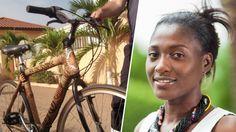 Une Ghanéenne crée des vélos en bambou, écologiques et durables