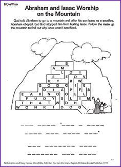 Dot to Dot Puzzle about Creation - BibleWise - Kids Korner