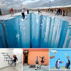10 Interactive Street Art Works That Rocked - My Modern Metropolis