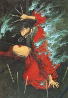 Hiroaki Samura, Blade of the Immortal, BotI Illustration Collection, Rin Asano, Utensils
