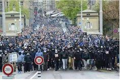 Thousands of Europeans Take to the Streets to Drive Out Islam