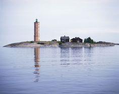 Söderskärin majakka, Porvoon saaristo, Finland.