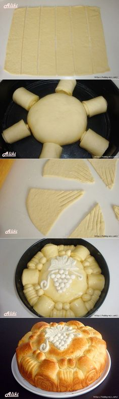 Beautiful vypechka- pies. 5 Ways to Cut dough