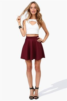 Win this awesome Box Pleated Skirt for Girl Friends | Me ...