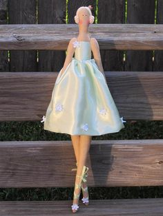 Princess doll Ballerina fabric doll ballerina doll cloth