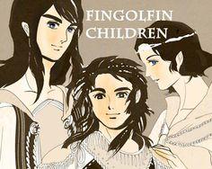 Turgon, Fingon and Aredhel
