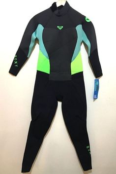 NEW Roxy Womens Full Wetsuit Back Zip Syncro 3 2mm NWT Size 14 - Retail  299 565aafe11