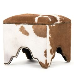 Willem Cow Hide Cubic Stool @LaylaGrayce