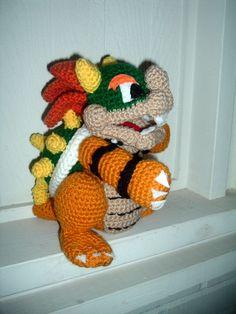 free bowser crochet pattern