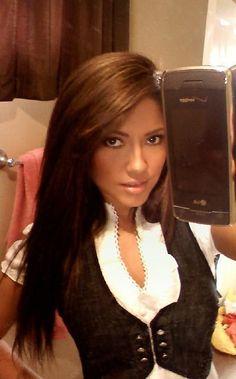 Jessica Burciaga.... <3 her hair