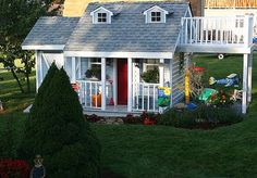 Design Dazzle: A Little Boy's Very Charming Playhouse!