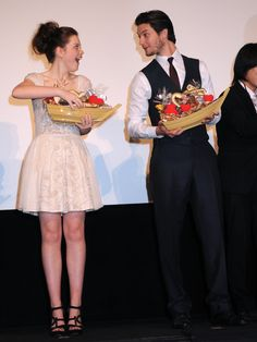 Georgie Henley and Ben Barnes those candies look SO GOOD! That dress isSUPER Cute!!!