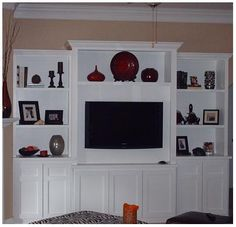 Custom Built-In TV Stand