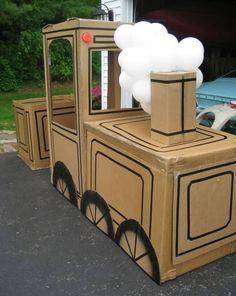 Des cartons et 15 idées pour créer des jouets avec vos enfants