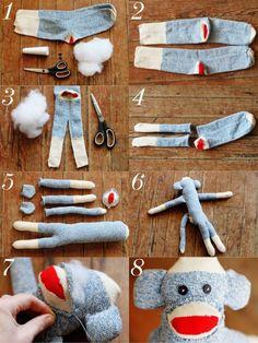 sock monkey how | from bandloch