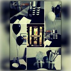 Juventus themed birthday - Compleanno a tema Juventus (by Ma Vie Creations)