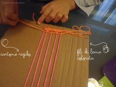 Creare un telaio per bambini