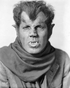 """Werewolf of London"" Actor Henry Hull (1935)"
