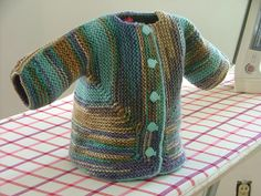 Crochet Surprise Jacket Free Pattern : Baby Surprise Jacket Knitting tutorials Pinterest ...