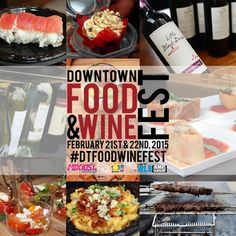 Downtown Food & Wine Fest at Lake Eola set for February 21 & 22 for foodies & wine lovers to experience unique local cuisine paired with various wines.