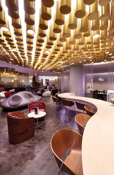 Virgin Atlantic JFK Clubhouse | Slade Architecture – Queens, NY 2012