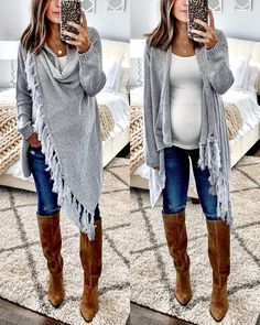 Schwangerschaftstipps # Schwangerschaftskleidung – Damenmode, die ich… – Nombres de bebés y ropa de bebé. Winter Maternity Outfits, Stylish Maternity, Winter Outfits Women, Winter Fashion Outfits, Maternity Wear, Maternity Clothing, Pregnancy Style Winter, Fall Pregnancy Outfits, Winter Maternity Fashion