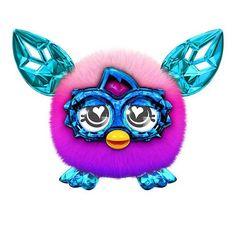 Furby Furblings Crystal Series Pink to Purple